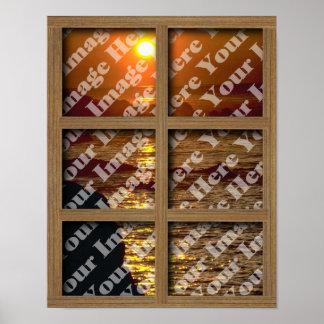 Créez votre propre fenêtre avec la vue de panneau posters