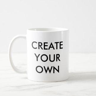 Créez votre propre grande tasse blanche