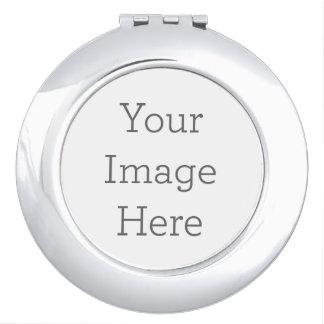 Créez votre propre miroir compact - rond