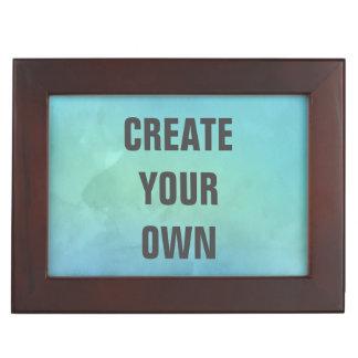 Créez votre propre peinture d'aquarelle de boîtes à souvenirs