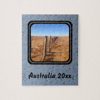 Créez votre propre puzzle - désert australien