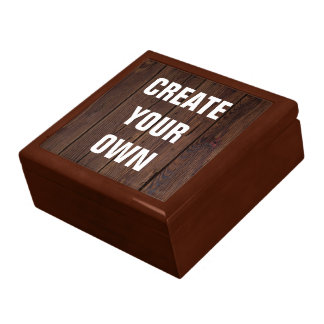 Créez votre propre regard en bois de plancher grande boîte à bijoux carrée