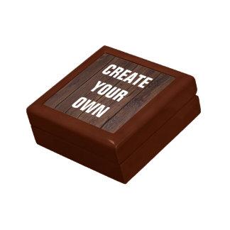 Créez votre propre regard en bois de plancher petite boîte à bijoux carrée