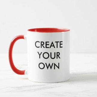 Créez votre propre tasse combinée personnalisable