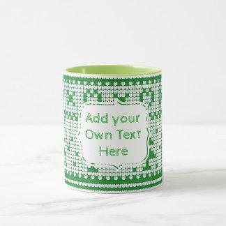Créez votre propre tasse de Noël