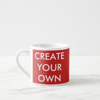 Créez votre propre tasse personnalisable de café