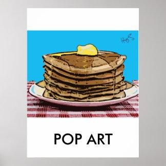 crêpes, ART de POP Posters