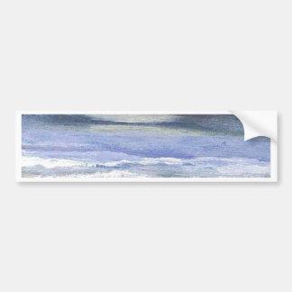 Crépuscule - art d'océan de CricketDiane Autocollant De Voiture
