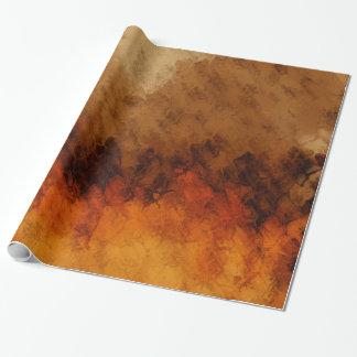 Crépuscule d'automne papier cadeau noël