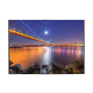 Crépuscule, George Washington BridgePalisades, NJ. Étuis iPad Mini