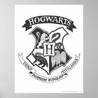 Crête 2 de Hogwarts Poster