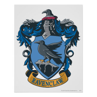 Crête 2 de Ravenclaw Affiche