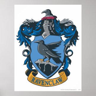 Crête 2 de Ravenclaw Poster