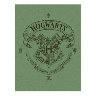 Crête de bannière de Harry Potter | Hogwarts Carte Postale