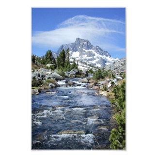 Crête de bannière de mille îles - sierra Nevada Impression Photo