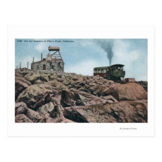 Crête de brochets, le Colorado - sur le sommet Cartes Postales
