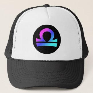 Crête de cercle de casquette de symbole de Balance