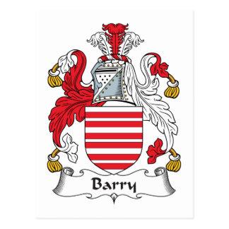 Crête de famille de Barry Cartes Postales