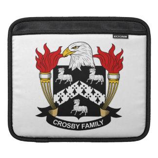 Crête de famille de Crosby Housses iPad