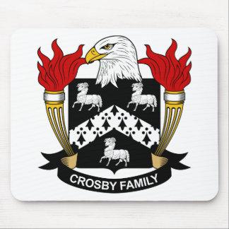 Crête de famille de Crosby Tapis De Souris