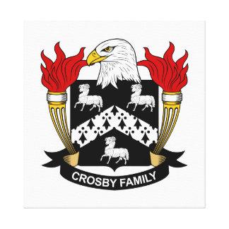 Crête de famille de Crosby Impressions Sur Toile