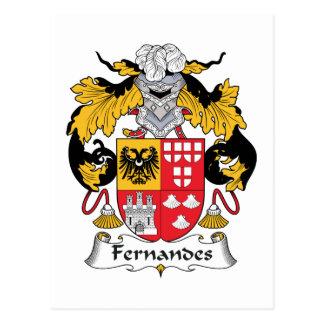 Crête de famille de Fernandes Cartes Postales