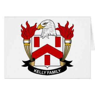 Crête de famille de Kelly Cartes