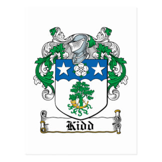 Crête de famille de Kidd Carte Postale