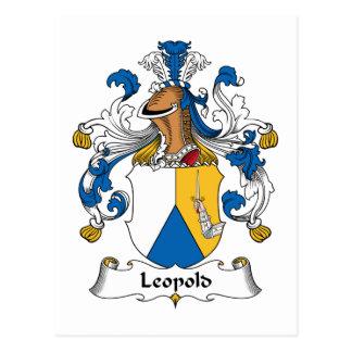 Crête de famille de Leopold Carte Postale