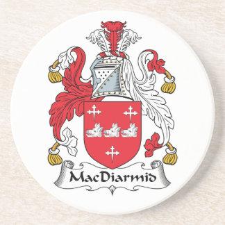 Crête de famille de MacDiarmid Dessous De Verres