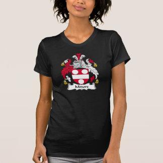 Crête de famille de mineurs t-shirts