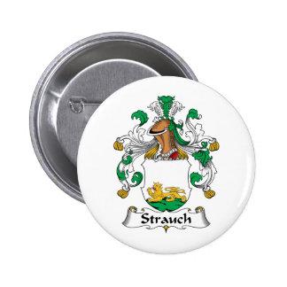 Crête de famille de Strauch Badges