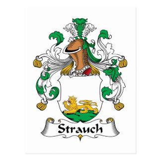 Crête de famille de Strauch Carte Postale