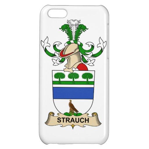 Crête de famille de Strauch Coques Pour iPhone 5C