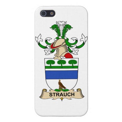 Crête de famille de Strauch iPhone 5 Case