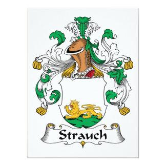 Crête de famille de Strauch Carton D'invitation 16,51 Cm X 22,22 Cm