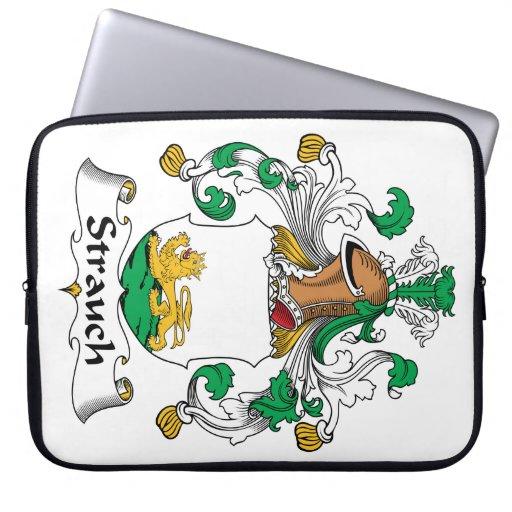 Crête de famille de Strauch Housses Pour Ordinateur Portable