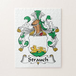 Crête de famille de Strauch Puzzles Avec Photo