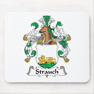 Crête de famille de Strauch Tapis De Souris
