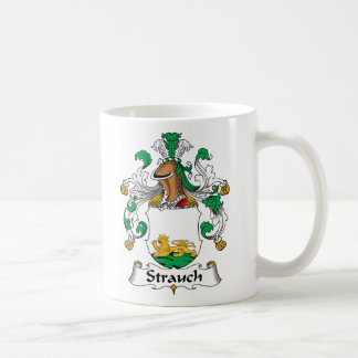 Crête de famille de Strauch Mug Blanc