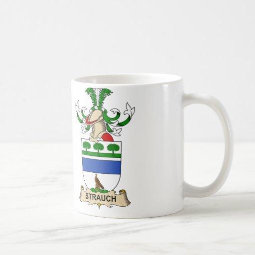 Crête de famille de Strauch Mug À Café