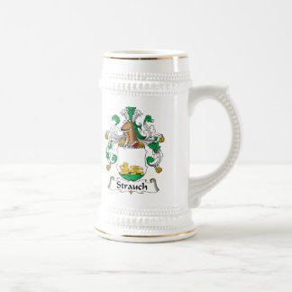 Crête de famille de Strauch Chope À Bière