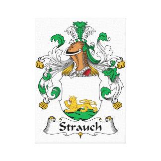 Crête de famille de Strauch Impressions Sur Toile