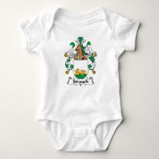 Crête de famille de Strauch T-shirts