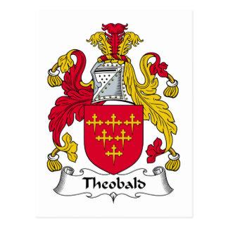 Crête de famille de Theobald Carte Postale