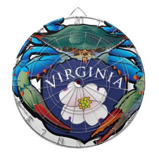 Crête de fleur de cornouiller de la Virginie de Jeu De Fléchettes