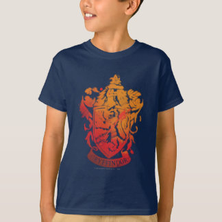 Crête de Gryffindor - éclaboussée T-shirt