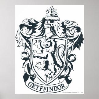 Crête de Gryffindor Posters