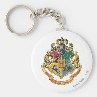 Crête de Harry Potter | Hogwarts - polychrome Porte-clé Rond