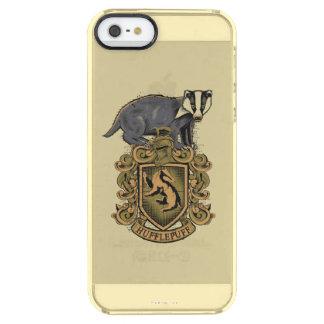 Crête de Harry Potter | Hufflepuff avec le Coque iPhone Clear SE/5/5s